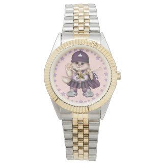 SCOUT CAT GIRL Two-Tone Bracelet Watch