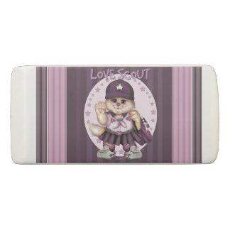 SCOUT CAT GIRL WEDGE Eraser