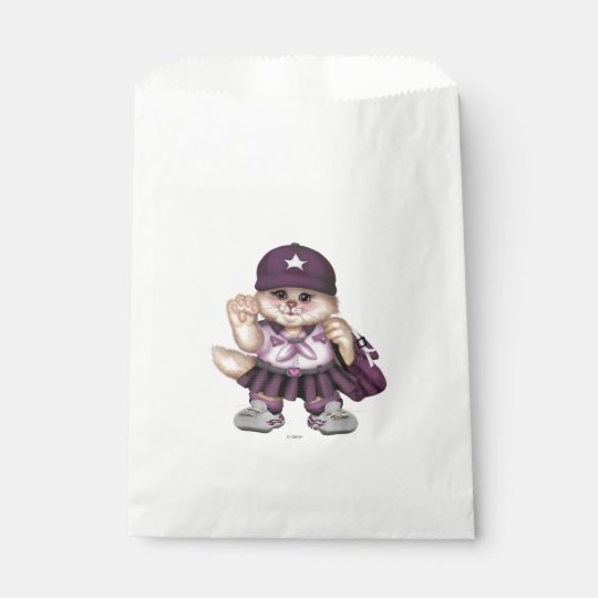 SCOUT CAT GIRL White CUTE FAVOR BAG 1