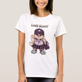 SCOUT CAT GIRL Women's Basic T-Shirt