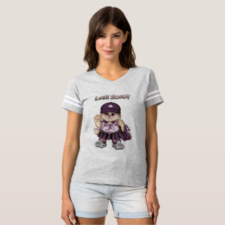 SCOUT CAT GIRL Women's Football T-SHIRT