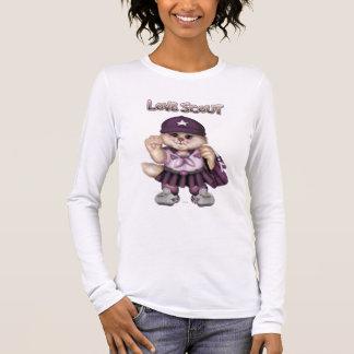 SCOUT CAT  GRIL Bella+Canvas LongSleeve T-Shirt