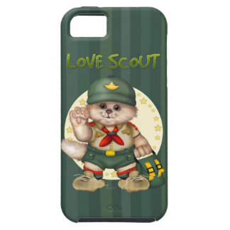 SCOUT CAT iPhone SE + iPhone 5/5S iPhone 5 Cover