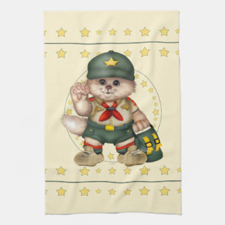 SCOUT CAT LOVE Linen with crockery Hand Towels