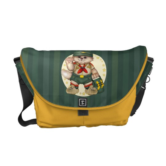SCOUT CAT LOVE Rickshaw Messenger Bag