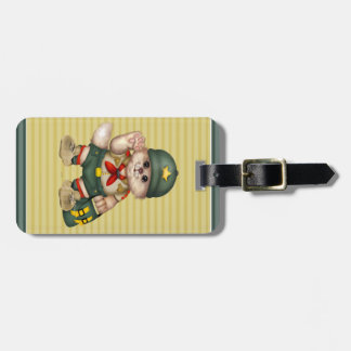 SCOUT CAT Luggage Tag 3