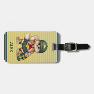 SCOUT CAT Luggage Tag 4