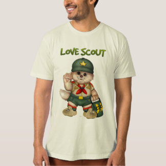 SCOUT CAT Men's American Apparel Organic T-Shirt