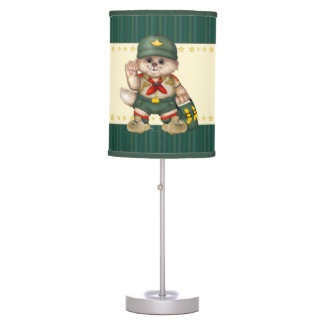 SCOUT CAT TABLE LAMP 2
