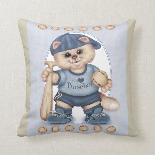 "SCOUT CAT Throw Pillow 16"" X 16"""