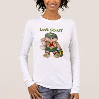SCOUT CAT  Women's Bella+Canvas LongSleeve T-Shirt