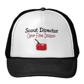 Scout Director Camp Fire Division Trucker Hat