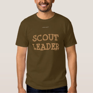 SCOUT LEADER TSHIRT