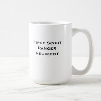 Scout Ranger Coffee Basic White Mug