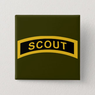 Scout Tab 2 Inch Square Button