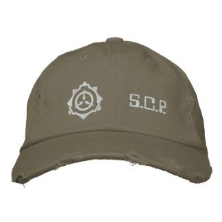 SCP Foundation cap: custom-b [SCP Foundation] Embroidered Hat