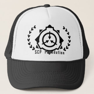 SCP Foundation cap: symple-B [SCP Foundation] Trucker Hat