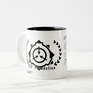 SCP Foundation magcup [SCP Foundation] Two-Tone Coffee Mug