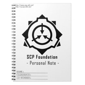 SCP Foundation notepad: symple-W [SCP Foundation] Notebooks