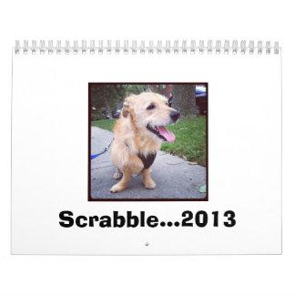 Scrabble...2013 Wall Calendar