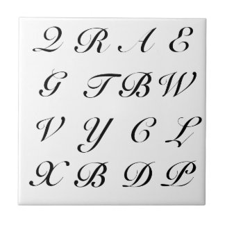 Scrabble Letters Tile