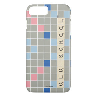 Scrabble Pattern 2 iPhone 8 Plus/7 Plus Case