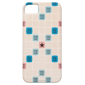 Scrabble Vintage Gamboard iPhone 5 Case