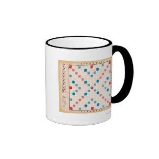 Scrabble Vintage Gamboard Ringer Mug