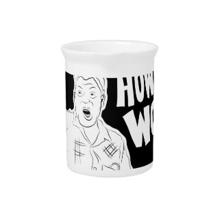 Scrabookin' with Howlin' Wolf Beverage Pitchers
