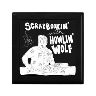 Scrabookin' with Howlin' Wolf Keepsake Boxes