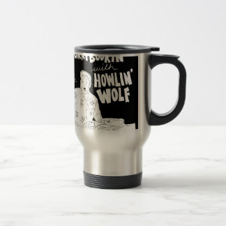 Scrabookin' with Howlin' Wolf Travel Mug