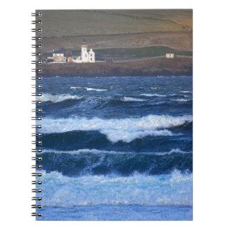 Scrabster Lighthouse near Thurso, Scotland Notebooks