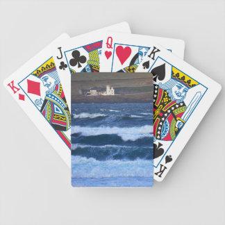 Scrabster Lighthouse near Thurso, Scotland Poker Deck