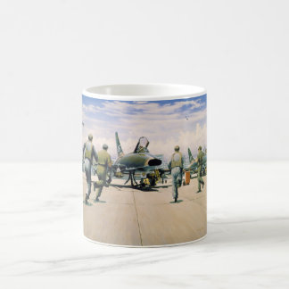 Scramble at Phan Rang by William S. Phillips Coffee Mug