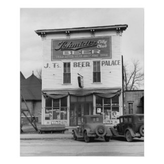 Scranton, Iowa, 1940 Poster