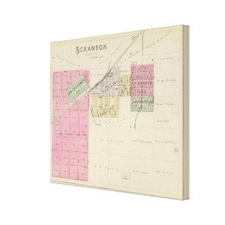 Scranton, Osage County, Kansas Canvas Print