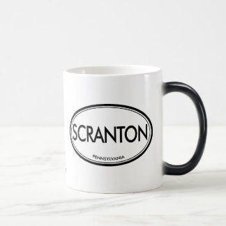 Scranton, Pennsylvania Magic Mug