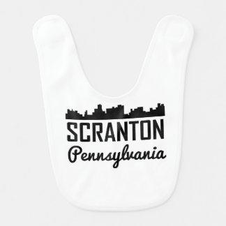 Scranton Pennsylvania Skyline Bib