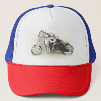 scrap bike trucker hat