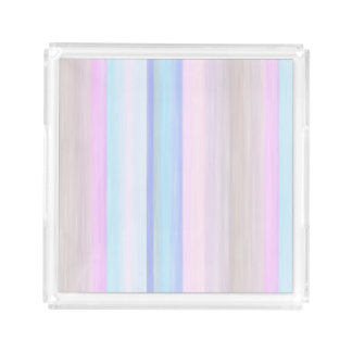 scrap book pastel colors style design acrylic tray