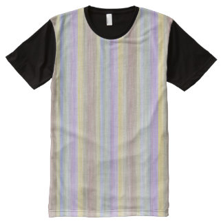 scrap book pastel colors style design All-Over-Print T-Shirt