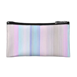 scrap book pastel colors style design cosmetic bag