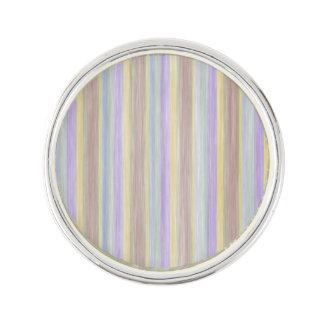 scrap book pastel colors style design lapel pin