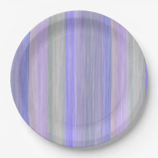 scrap book pastel colors style design paper plate