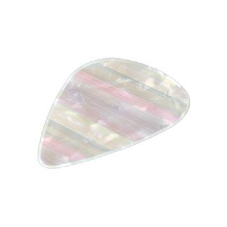 scrap book pastel colors style design pearl celluloid guitar pick