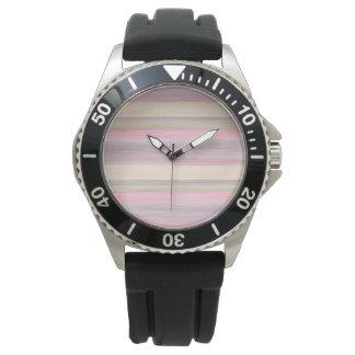 scrap book pastel colors style design watch