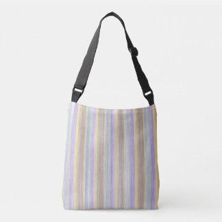 scrap book pastel colours style design crossbody bag
