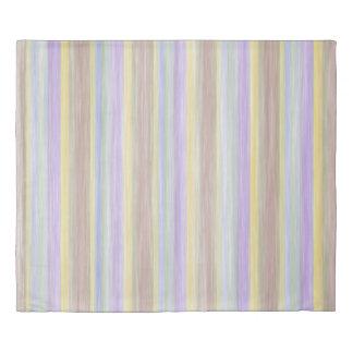 scrap book pastel colours style design duvet cover
