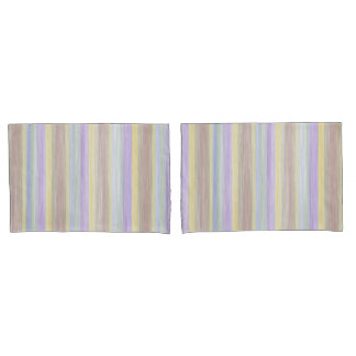 scrap book pastel colours style design pillowcase