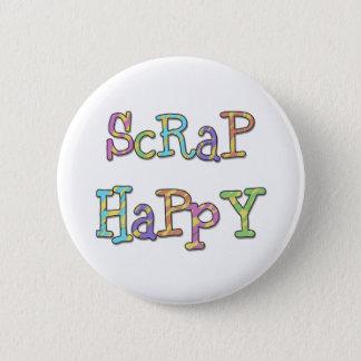 Scrap Happy 2 Inch Round Button